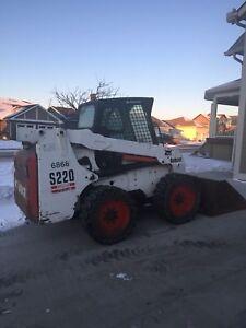 S220 Bobcat Skidsteer Ready For Work!
