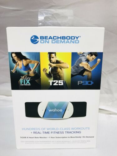 Beachbody On Demand 1-YR Membership & Wahoo TICKR X