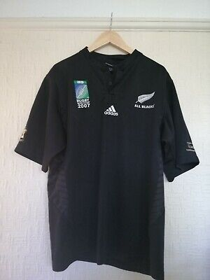 New Zealand rugby shirt XXL   Commemorative 2007 world cup shirt