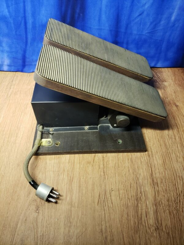 Organ Expression Dual Pedal Swell And Great 1950 Organ Volume Pedal With Tags