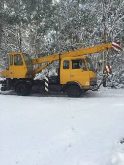 Mobile Crane - 5 tonne rated