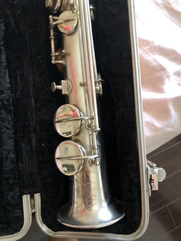Soprano Saxophone Conn Che Berry Silver 209370