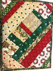 Placemats, Christmas, Handmade, Patchwork - # 10 Cleveland Redland Area Preview