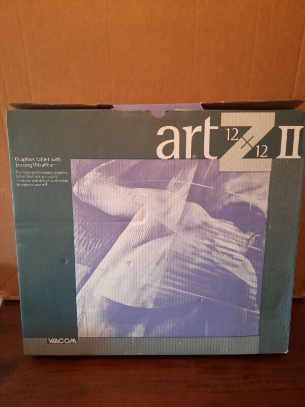 Rare Vintage Wacom Artz II 12x12 Graphics Tablet... No Erasing Ultra Pen