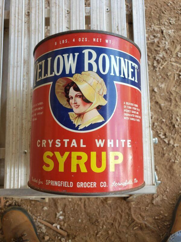 Yellow Bonnet Syrup