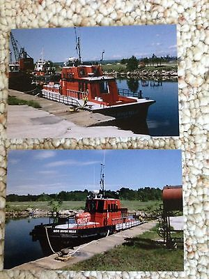 SOO RIVER BELLE PILOT BOAT GREAT LAKES 2 PHOTOS