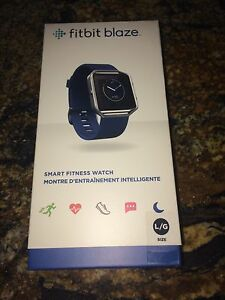Fitbit Blaze smart fitness watch  new and sealed