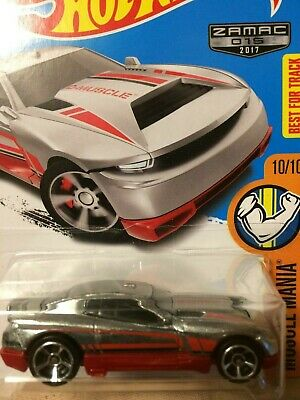 Hot Wheels  - Muscle Mania Series - D Muscle - ZAMAC