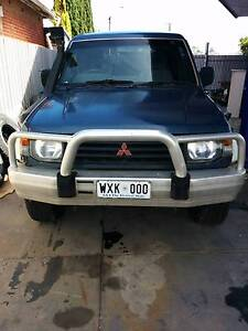 NH  PAJERO GLS 2.5LT TURBO DIESEL FOR WRECKING LOTS OF GOOD PARTS Mile End West Torrens Area Preview