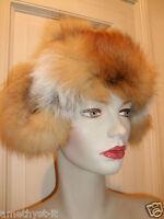 Cappello Hut Hat Colbacco Pelliccia Fur Pelz Volpe Rossa Aviatore Red Fox Fuchs - fuchs - ebay.it
