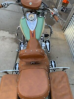 2015 Indian Chief Vintage Willow Green and Ivory Cream  2015 Indian Motorcycle Chief Vintage Willow Green and Ivory Cream Extras!!!
