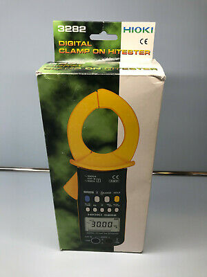 Hioki 3282 Clamp Meter - Digital Clamp On Hitester - Made In Japan