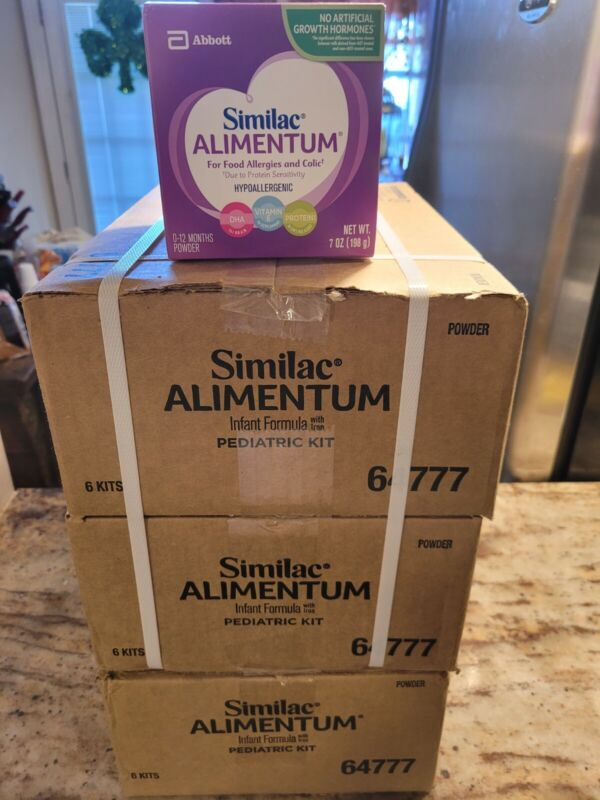 Similac Alimentum- 3 Cases!!!! Sealed From Manufacture