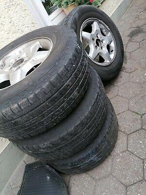 Reifen für Mercedes Ml 255/ 65 R 16 4 Stück mit Aluminum Felgen