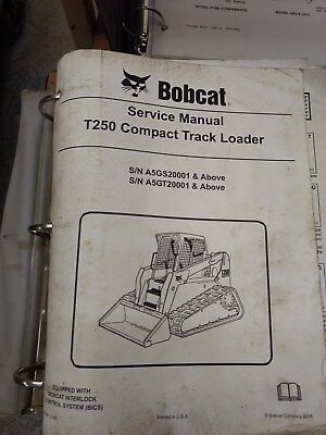 Bobcat T250 Compact Track Loader Service Manual