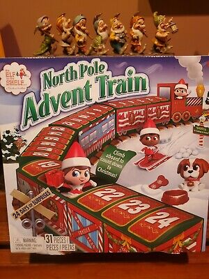 Elf On The Shelf Advent Train