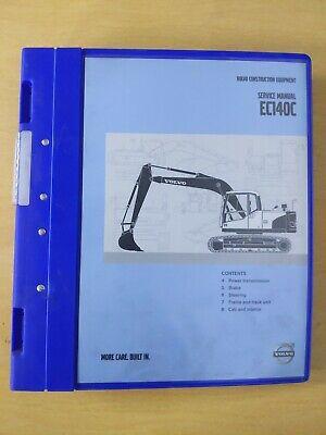 Volvo Construction Equipment Ec140c Service Manual