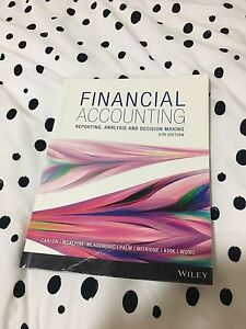Financial Accounting 5th Edition Textbook Brookwater Ipswich City Preview