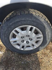 4-215/70/15 tires with rims