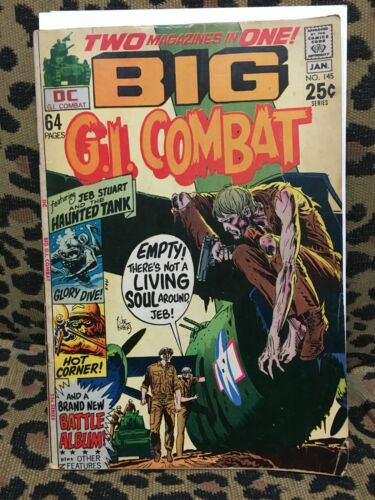 G. I. COMBAT - LOT #2 - DC - 12 ISSUES Within #145-160 - 1970-73 - F+/G-