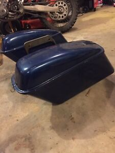 Harley Davidson vintage hard bags