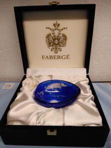 Faberge Cobalt Caviar Presenter (No Spoon)