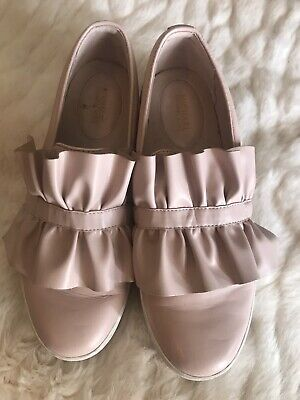 Michael Kors Slip On Soft Pink Leather Sneaker Loafer Size 9
