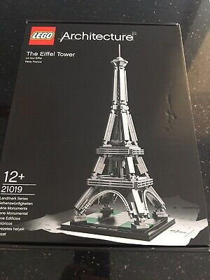 Lego Architecture The Eiffel Tower (21019). Brand New. Retired Sealed