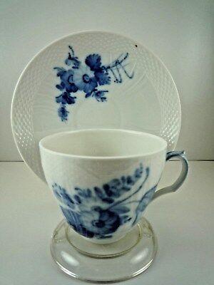 Antique Numbered Royal Copenhagen Denmark Tea Cup and Saucer Set