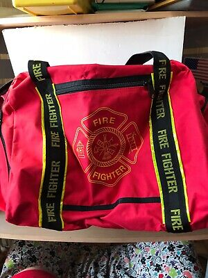 Fire Fighter Equipment Bag Used 28x16x16 In