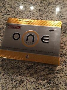 NIKE ONE TW SPEC 2005 GOLF BALLS - MINT CONDITION + WHEATIES