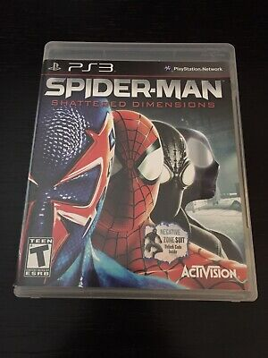 COMPLETE Spider-Man: Shattered Dimensions (Sony PlayStation 3, 2010) PS3