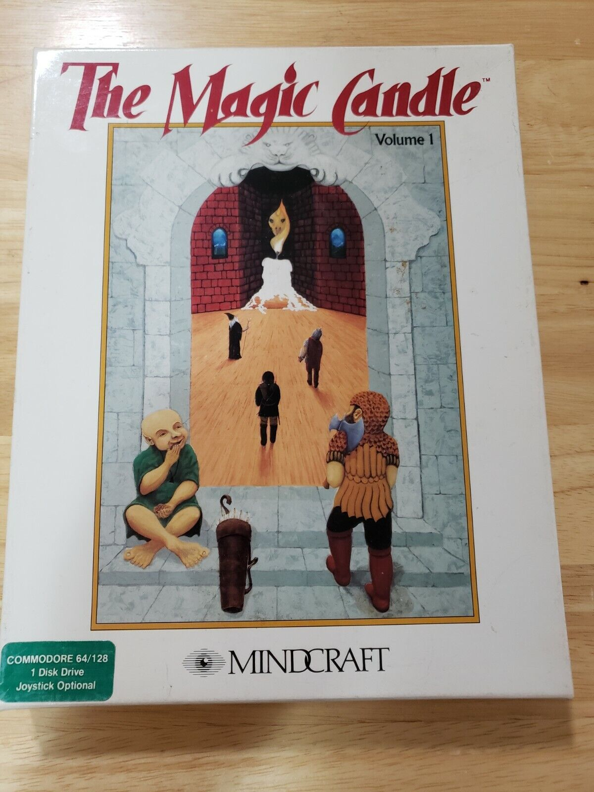 Computer Games - THE MAGIC CANDLE Commodore 64 - 128 Computer Game  Complete CIB UNTESTED