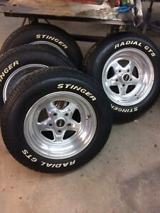 Weld racing rims and tires