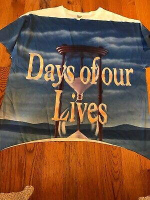 Days Of Our Lives Tee Shirt, 2XL, Short Sleeves, Jerzees,