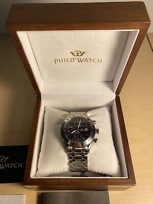 Philip Watch Admiral Chronograph waffle dial valjoux 7750