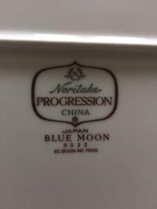 Noritake Progression China Blue Moon