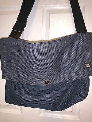 Used, Jack Spade Warren Street Blue Folded Messenger Laptop Bag Crossbody Bag VGUC for sale  Richmond