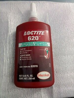 Usa Loctite 620 Net 8.45 Fl. Oz. 250 Ml Retaining Compound 62070 Exp 321 921