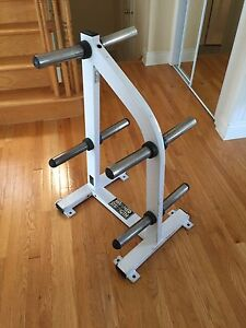 Hammer Strength Olympic Weight Tree - commercial unit