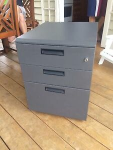 Grey filing cabinet Coorparoo Brisbane South East Preview