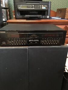 Pioneer gr551 graphic equalizer