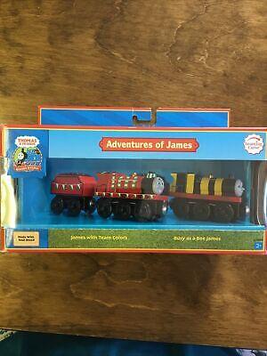 Thomas & Friends Wooden Railway Adventures Of James 2007