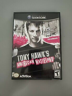 Tony Hawk/s American Wasteland Nintendo Gamecube Game Complete disc case insert