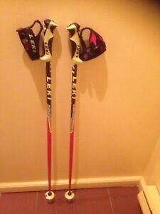 Pole de ski de course leki