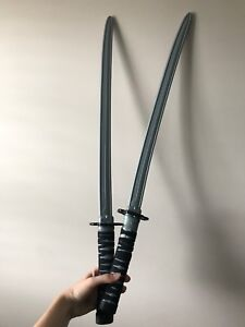 Plastic ninja swords