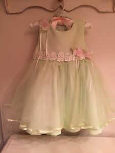 Rare Edition gorgeous dress with romper 24m