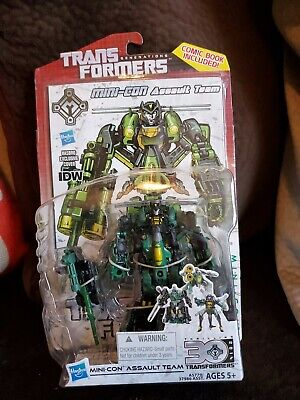 Transformers Generations MINI-CON ASSAULT TEAM 30th Anniversary Deluxe Class NIB