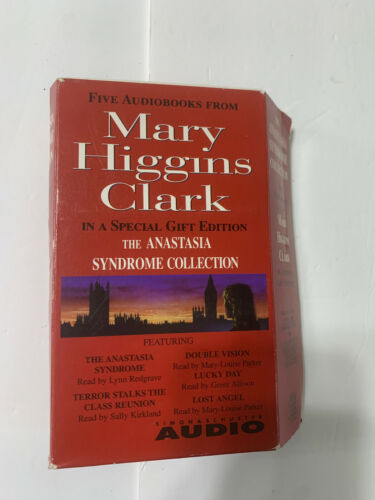 Mary Higgins Clark The Anastasia Syndrome Collection 5 Audio Books on Cassette