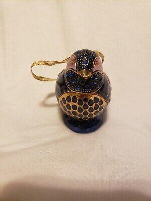 Jeweled mini figurine cremation urn keepsake